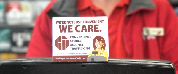 Convenience Stores Against Human Trafficking