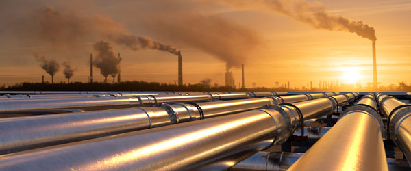 Gas Refinery and Pipeline