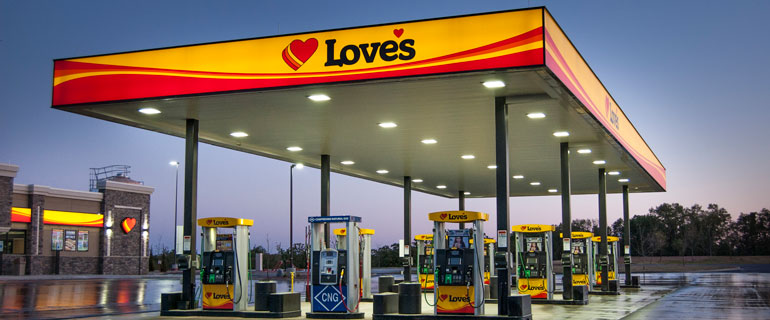 Love's Travel Stops Location