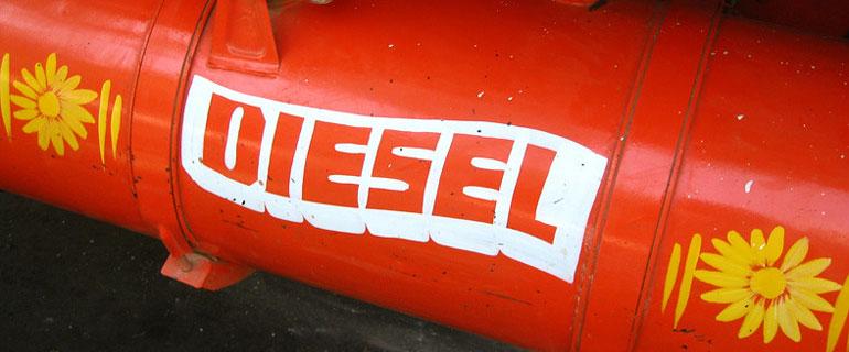 Diesel Pipe and Tank