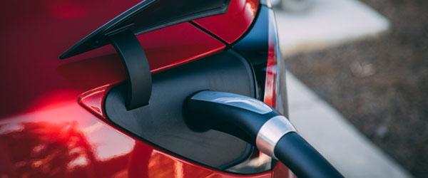 Red EV Charging