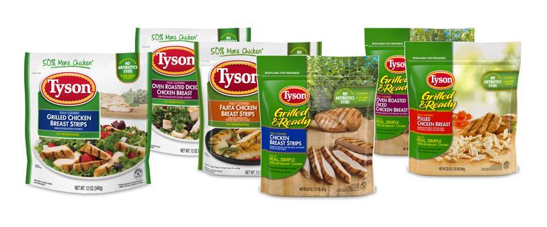 Tyson Foods Frozen Chicken