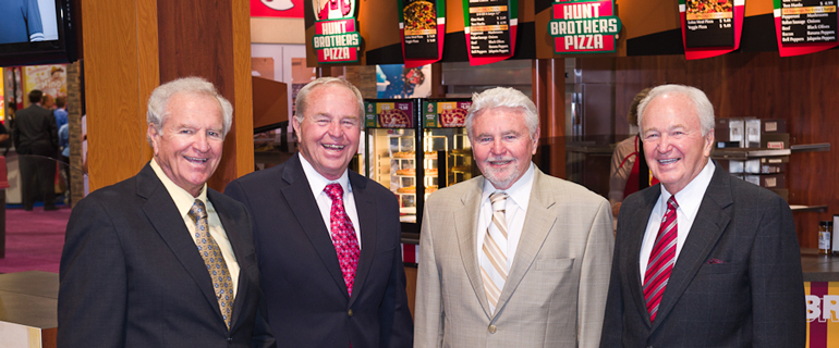 Hunt Brothers Pizza Leaders